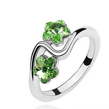 Damskie Pierscionek Biżuteria Klasyczny Kwiaty euroamerykańskiej Kamień szlachetny Biżuteria Biżuteria Na Impreza Specjalne okazje