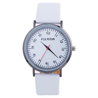 Ceas La Modă Ceas de Mână Quartz Piele Bandă Creative Cool Casual Negru Alb Maro Rose Alb Negru Fucsia Maro