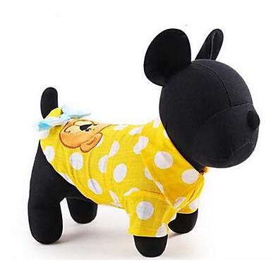 Köpek Elbiseler Köpek Giyimi Sevimli Günlük/Sade Prenses Sarı Açık Mavi Kostüm Evcil hayvanlar için