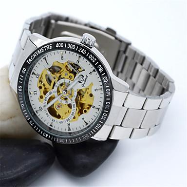 Bărbați Ceas La Modă Quartz Aliaj Bandă Casual Argint Negru și Auriu Argintiu/negru Argintiu / alb Aur / alb