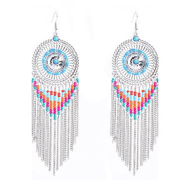 Kolczyki zwisają Biżuteriaeuroamerykańskiej Oświadczenie Biżuteria Paciorki Styl Folk Ręcznie wykonane Europejski Postarzane Bohemia