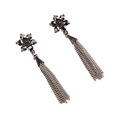 Kadın's Damla Küpeler Mücevher Moda Bohemia Stili Euramerican Değerli Taş Mücevher Mücevher Uyumluluk Düğün Parti Özel Anlar