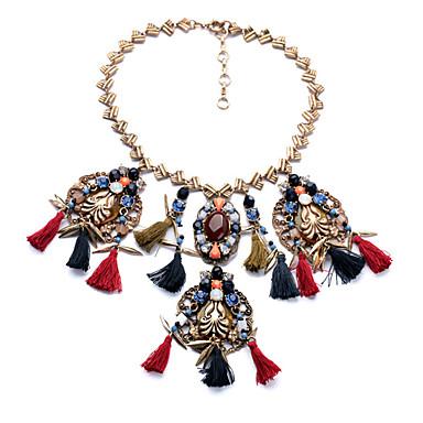 Γυναικεία Κολιέ Δήλωση Εξατομικευόμενο Euramerican Φούντες Ουράνιο Τόξο Κοσμήματα Για Γάμου 1pc