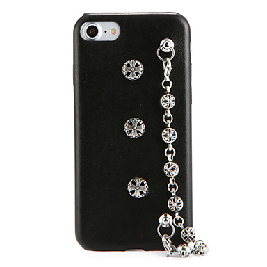 Etui Käyttötarkoitus Apple iPhone 7 Plus iPhone 7 DIY Takakuori Punk Kova PU-nahka varten iPhone 7 Plus iPhone 7 iPhone 6s Plus iPhone 6s