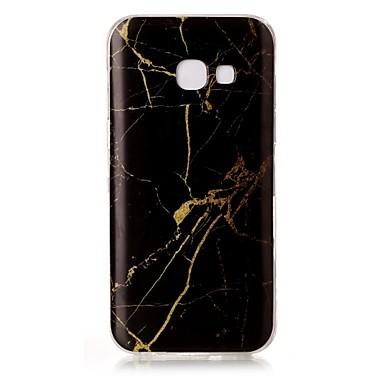 tok Για Samsung Galaxy A5(2017) A3(2017) IMD Με σχέδια Πίσω Κάλυμμα Μάρμαρο Μαλακή TPU για A3 (2017) A5 (2017)