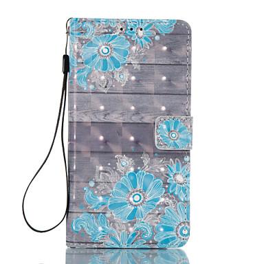 غطاء من أجل Samsung Galaxy J5 (2016) J3 (2016) حامل البطاقات محفظة مع حامل قلب نموذج مغناطيس كامل الجسم زهور قاسي جلد اصطناعي إلى J5