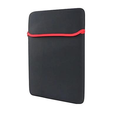 pc δισκίο γενική επένδυση πακέτο sbr καταδύσεων υλικό τσάντα υπολογιστή 17 ιντσών απλό μαύρο unisex