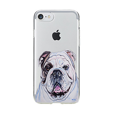 Pentru Transparent Model Maska Carcasă Spate Maska Câțel Moale TPU pentru AppleiPhone 7 Plus iPhone 7 iPhone 6s Plus iPhone 6 Plus iPhone