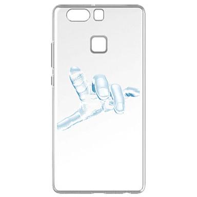 Na Wzór Kılıf Etui na tył Kılıf Other Miękkie TPU na Huawei Huawei P9 Huawei P9 Lite Huawei P8 Huawei P8 Lite
