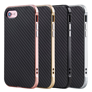 Kılıf Na Apple iPhone 7 Plus iPhone 7 Odporne na wstrząsy Czarne etui Solid Color Twarde TPU na iPhone 7 Plus iPhone 7 iPhone 6s Plus