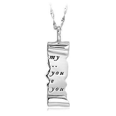 للرجال للمرأة قلائد الحلي مجوهرات مجوهرات الأحجار الكريمة الاصطناعية سبيكة مخصص موديل الزينة المعلقة الطبيعة euramerican في مجوهرات من أجل