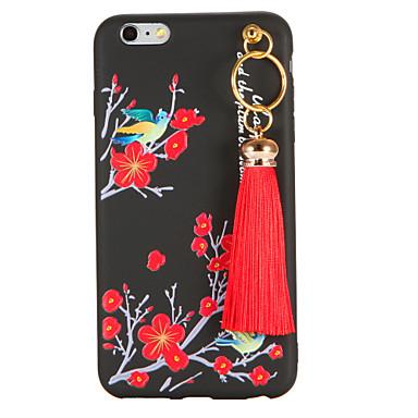 Varten Kuvio DIY Etui Takakuori Etui Kukka Pehmeä TPU varten Apple iPhone 7 Plus iPhone 7 iPhone 6s Plus iPhone 6 Plus iPhone 6s iPhone 6