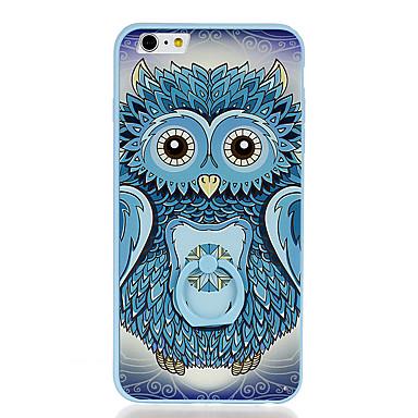 Για Βάση δαχτυλιδιών Με σχέδια tok Πίσω Κάλυμμα tok Κουκουβάγια Σκληρή PC για Apple iPhone 6s Plus iPhone 6 Plus iPhone 6s iPhone 6