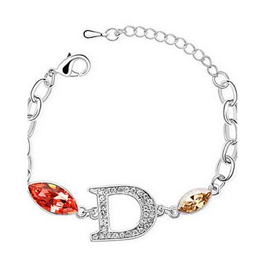 Damskie Bransoletki i łańcuszki na rękę Biżuteria Przyjaźń Modny Cyrkon Stop Geometric Shape Biżuteria Na Impreza Urodziny