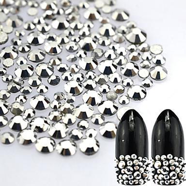 About 500pcs/bag Biżuteria do paznokci / Glitter i Poudre Błyskotki / Ślub / Połyskujące Słodkie Codzienny Nail Art Design