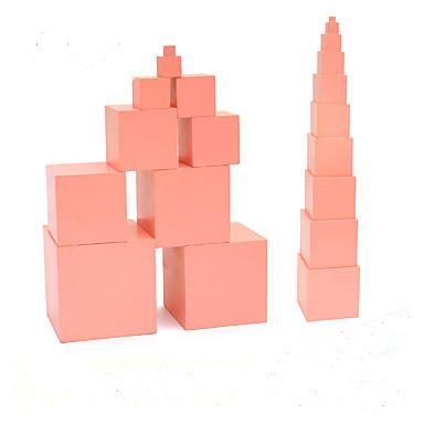 Narzędzie do nauczania Montessori Zabawka edukacyjna Zabawki Cylindryczny Wieża Edukacja DZIECIĘCE Dla dzieci 1 Sztuk