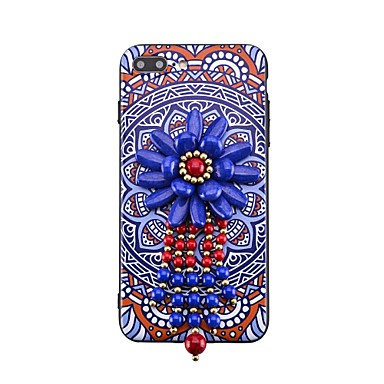Maska Pentru iPhone 7 Plus iPhone 7 iPhone 6s Plus iPhone 6 Plus iPhone 6s iPhone 6 Apple Stras Model Reparații Capac Spate Desene 3D Greu