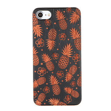 Varten Koristeltu Kuvio Etui Takakuori Etui Hedelmä Kova Puu varten Apple iPhone 7 Plus iPhone 7