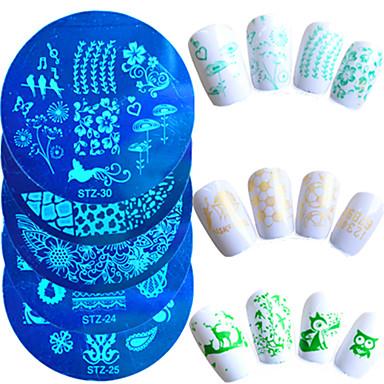 # opracowanie narzędzi i akcesoriów tłoczenie płyty narzędzie do tłoczenia paznokci szablon tłoczenia paznokci narzędzie nail art profesjonalny