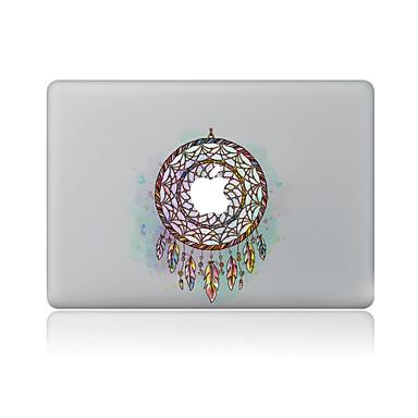 1 szt. Odporne na zadrapania Wzór geometryczny Przezroczysty plastik Naklejka na obudowę Wzorki NaMacBook Pro 15'' with Retina MacBook