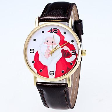 pentru Doamne Ceas Sport Ceas Elegant Ceas La Modă Ceas de Mână Quartz Mare Dial Piele Autentică Bandă Charm MulticolorPortocaliu Galben