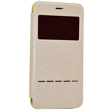 Kılıf Na Apple iPhone 8 iPhone 8 Plus Z okienkiem Auto uśpienie / włączenie Galwanizowane Flip Pełne etui Połysk Twarde Skóra PU na