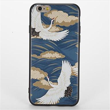 Για Με σχέδια tok Πίσω Κάλυμμα tok Ζώο Μαλακή TPU για Apple iPhone 7 Plus iPhone 7 iPhone 6s Plus iPhone 6 Plus iPhone 6s iPhone 6