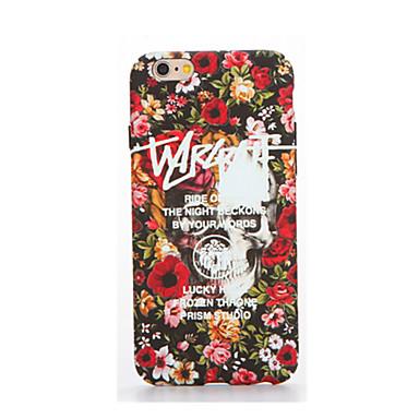 Etui Käyttötarkoitus Apple iPhone 7 Plus iPhone 7 Hehkuu pimeässä Kuvio Koristeltu Takakuori Sana / lause Pehmeä TPU varten iPhone 7 Plus