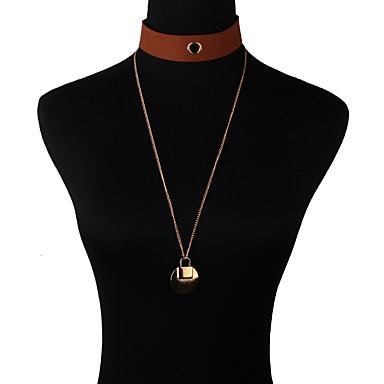 Damskie Naszyjniki z wisiorkami Biżuteria Biżuteria Kamień szlachetny Stop Modny euroamerykańskiej Biżuteria Na Impreza