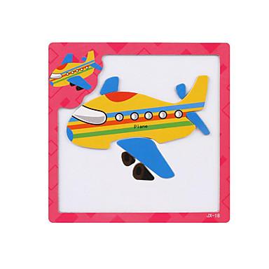 قطع تركيب3D تركيب ألعاب الألغاز الخشب نموذج ألعاب تربوية ألعاب طيارة 3D مغناطيس خشب الأطفال قطع