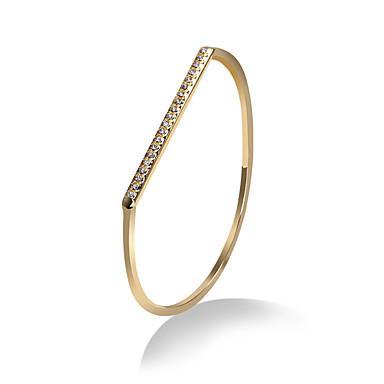Kadın's Bilezikler Mücevher Doğa Moda Bohemia Stili Punk Tarzı alaşım Oval Shape Altın Gümüş Mücevher Için Doğumgünü Spor 1pc
