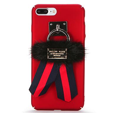 Için Kendin-Yap Pouzdro Arka Kılıf Pouzdro Solid Renkli Sert PC için AppleiPhone 7 Plus iPhone 7 iPhone 6s Plus iPhone 6 Plus iPhone 6s