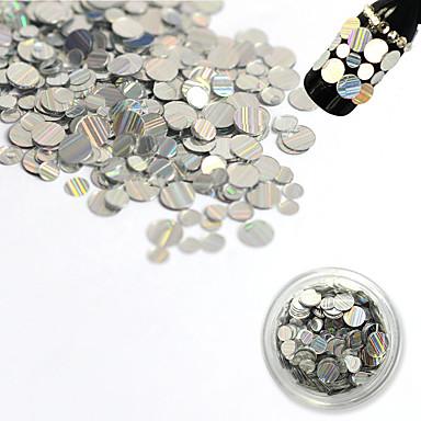 1 bottle Nail Art Decoration tekojalokivi Pearls meikki Kosmeettiset Nail Art Design