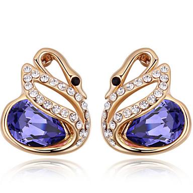 Γυναικεία Κουμπωτά Σκουλαρίκια Κρυστάλλινο Εξατομικευόμενο Μοναδικό Άνιμαλ χαριτωμένο στυλ Euramerican Κοσμήματα Για Γάμου Πάρτι Γενέθλια