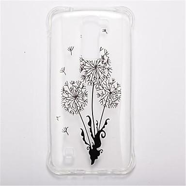 tok Για LG Ανθεκτική σε πτώσεις Διαφανής Με σχέδια Πίσω Κάλυμμα Λουλούδι Μαλακή TPU για LG K10 LG K8 LG K7