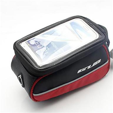 حقيبة دراجة الإطار حقيبة الهاتف الخليوي 5.7 بوصة الشاشات التي تعمل باللمس ركوب الدراجة إلى سامسونج غالاكسي S8 / S7 / Note 7 iPhone X
