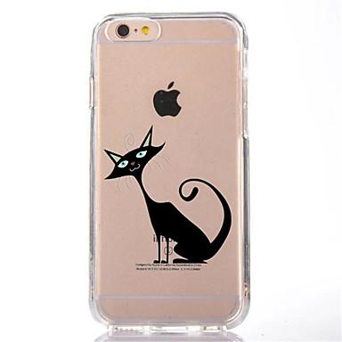 Na Przezroczyste Wzór Kılıf Etui na tył Kılıf Kot Miękkie TPU na AppleiPhone 7 Plus iPhone 7 iPhone 6s Plus iPhone 6 Plus iPhone 6s