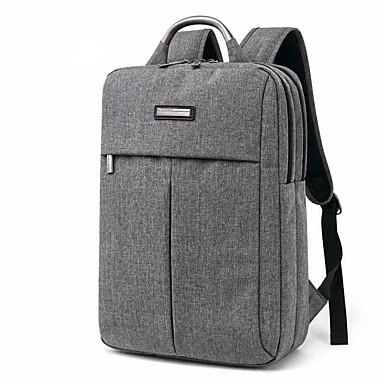 tuguan 15.6 inch saci de laptop pânză fulg de nea stil pătrat geanta de umăr calculator din aliaj de aluminiu se ocupe de rezistență la