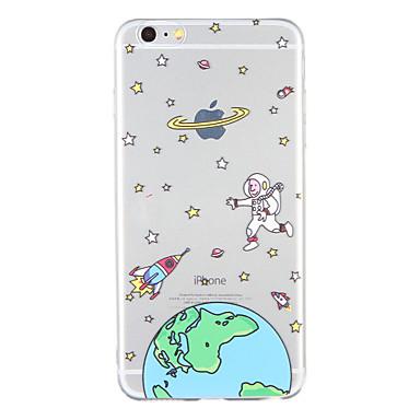 Varten Kuvio Etui Takakuori Etui Piirros Pehmeä TPU varten Apple iPhone 6s Plus iPhone 6 Plus iPhone 6s iPhone 6 iPhone SE/5s iPhone 5