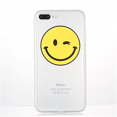 Kılıf Na Apple iPhone 7 Plus iPhone 7 Wzór Czarne etui Rysunek Miękkie TPU na iPhone 7 Plus iPhone 7 iPhone 6s Plus iPhone 6s iPhone 6