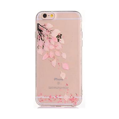 Etui Käyttötarkoitus Apple iPhone 7 Plus iPhone 7 DIY Takakuori Kukka Pehmeä TPU varten iPhone 7 Plus iPhone 7 iPhone 6s Plus iPhone 6s