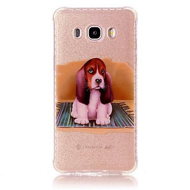 غطاء من أجل Samsung Galaxy J7 Prime J5 Prime ضد الصدمات IMD نموذج غطاء خلفي كلب ناعم TPU إلى J7 Prime J7 (2016) J5 Prime J5 (2016) J3