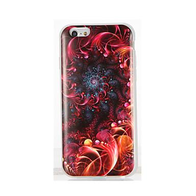 Kılıf Na Apple iPhone 7 Plus iPhone 7 IMD Wzór Czarne etui Przejście kolorów Miękkie TPU na iPhone 7 Plus iPhone 7 iPhone 6s Plus iPhone