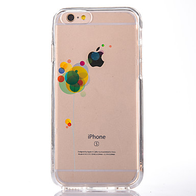 Na Przezroczyste Wzór Kılıf Etui na tył Kılıf Balon Miękkie TPU na AppleiPhone 7 Plus iPhone 7 iPhone 6s Plus iPhone 6 Plus iPhone 6s