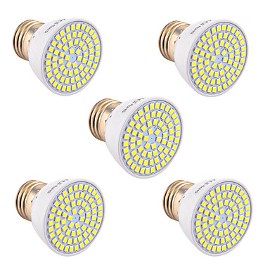 Lampa reflektorowa ywxlight® 5w gu10 gu5.3 (mr16) e26 / e27 72smd 2835 400-500 lm ciepły biały zimny biały naturalny biały 110v / 220v