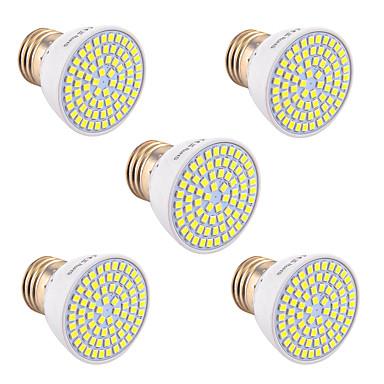 YWXLIGHT® 5W 400-500 lm GU10 GU5.3(MR16) E26/E27 Spoturi LED 72 led-uri SMD 2835 Decorativ Alb Cald Alb Rece Alb Natural AC 110-220