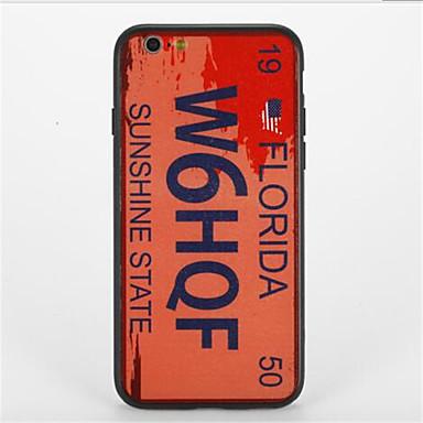 Για Με σχέδια tok Πίσω Κάλυμμα tok Λέξη / Φράση Σκληρή PC για Apple iPhone 7 Plus iPhone 7 iPhone 6s Plus iPhone 6 Plus iPhone 6s iPhone 6