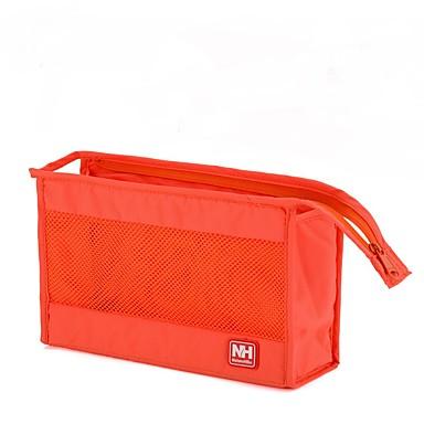 حقيبة أدوات تجميل منظم أغراض السفر حقيبة أدوات تجميل للسفر مقاوم للماء المحمول تخزين السفر إلى ملابس نايلون / للرجال للمرأة السفر الخارج