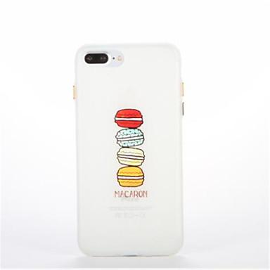 tok Για Apple Λάμπει στο σκοτάδι Με σχέδια Πίσω Κάλυμμα Φαγητό Μαλακή TPU για iPhone 7 Plus iPhone 7 iPhone 6s Plus iPhone 6 Plus iPhone