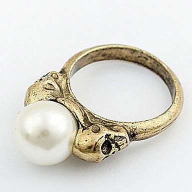 Bărbați Pentru femei manşetă Ring Inel Band Ring Imitație de Perle Personalizat Design Unic Stil Logo Clasic Vintage Boem De Bază